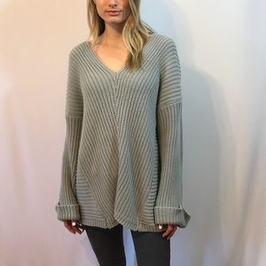 Chunky Knit Oversized Sweater